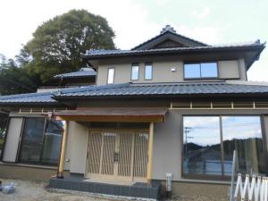 注文住宅 和の邸宅 外観 奈良市