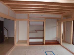 近鉄の注文住宅 奈良県 真壁和室 床の間