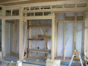 注文住宅 奈良県 純和風 真壁和室(床の間部分)