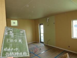 大阪府堺市 外断熱工法エアーウッド プラスターボード全景