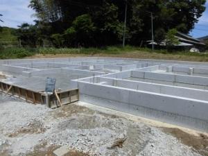 注文住宅 奈良県 鉄筋コンクリート造りベタ基礎