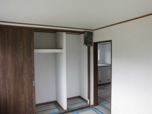 奈良県 注文住宅 純和風 2階洋室 物入れ