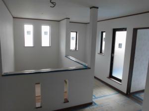 注文住宅 純和風 2階玄関ホール