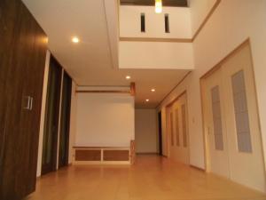 近鉄の注文住宅 和の邸宅 奈良県 内覧会(玄関ホール)