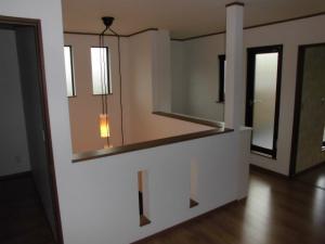 近鉄の注文住宅 奈良県 和の邸宅 完成写真(2階ホール)