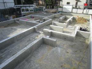 近鉄の注文住宅 外断熱工法エアーウッド 鉄筋コンクリート造りベタ基礎