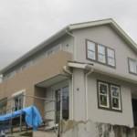 近鉄の注文住宅 外断熱工法 エアーウッド 外観完成 奈良県生駒市 ソーラーパネル
