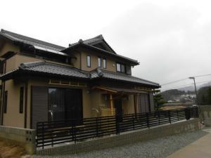 近鉄の注文住宅 外断熱工法エアーウッド 奈良県 純和風のお住い