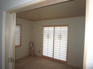 奈良県奈良市 近鉄の注文住宅 外断熱工法エアーウッド 注文住宅 5LDKの住まい 外断熱工法エアーウッド 和室