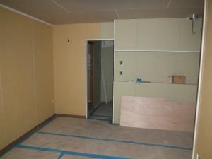 キッチン 2世帯住宅 外断熱工法 エアーウッド 大阪府大阪市