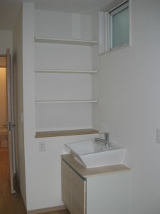 洗面台 2世帯住宅 4世帯で暮らす 和室 大阪府大阪市 注文住宅