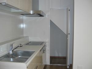キッチン 2世帯住宅 4世帯で暮らす IH 大阪府大阪市 注文住宅