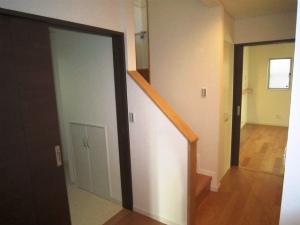 大阪 富田林 注文 6LDK 広々バルコニーのある家 近鉄 外断熱工法 エアーウッド  階段ホール