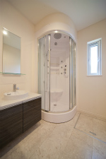 シャワールーム 洗面台