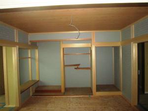 和室 施工途中 近鉄 注文住宅 奈良県橿原市 エアーウッド