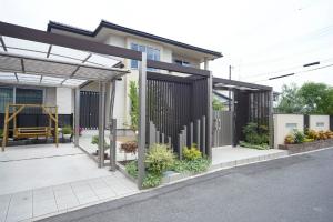 和洋折衷の住まい 白と黒のコントラスト 奈良県橿原市 注文住宅