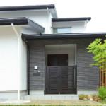 こだわりの我が家 奈良県 注文住宅 近鉄  外断熱工法 黒と白のトーン お洒落