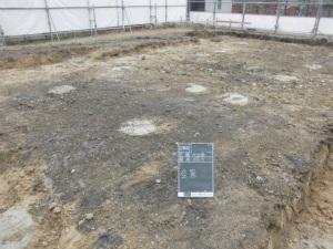 全景 着工前 奈良県生駒市 注文住宅 近鉄 外断熱工法 エアーウッド