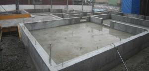注文住宅 基礎工事 基礎配筋完成 鉄筋コンクリート造ベタ基礎