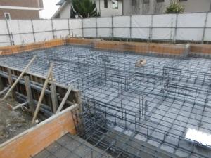 基礎 注文住宅 奈良県 生駒市 近鉄 外断熱工法 エアーウッド 鉄筋コンクリート造ベタ基礎