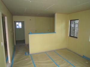 リビングダイニングキッチン 新築工事 注文住宅 内装工事