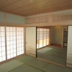 和室 オサランマ 注文住宅 完成 床の間