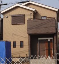 外観 シンプルナチュラルな住まい 大阪府 東大阪市 注文住宅