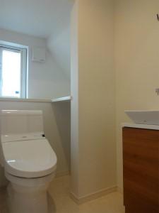 トイレ 収納充実 こだわり シンプルナチュラル 注文住宅