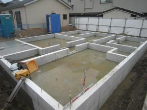 近鉄の注文住宅 奈良県桜井市 基礎工事
