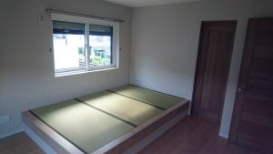 主寝室 新築 注文住宅 和ベッド
