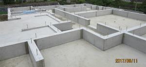 基礎完成 新築 注文住宅