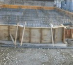新築 基礎工事配筋写真