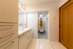 洗面スペース ナチュラル 注文住宅
